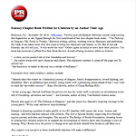 Press Release Children's Fantasy Book by Author Their Age